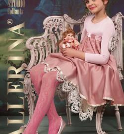 Tüdrukute pidulikud võrksukkpüksid Ballerina C..
