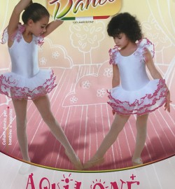 Tüdrukute tantsusukkpüksid Donna BC Dance 40 de..