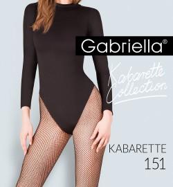 Beežid võrksukkpüksid Gabriella Kabarette 151