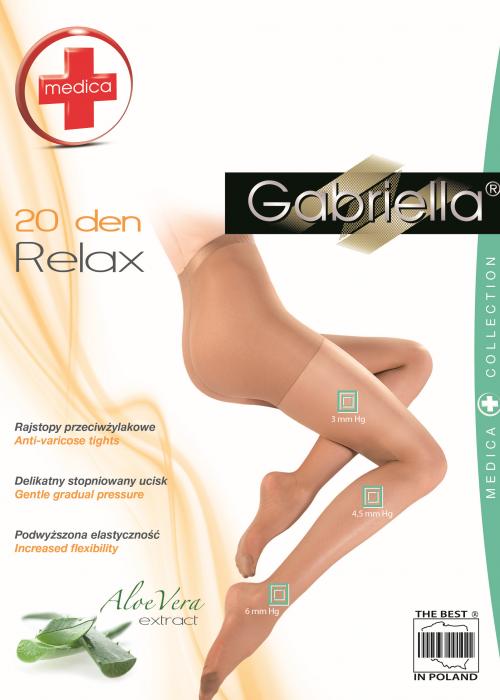Pluss Suuruses Trimmivad sukkpüksid Gabriella Relax 20 den