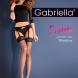 Gabriella komplekt sukahoidja ja sukad Shadow 20 den, must ja punane