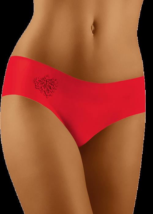 Wolbar naiste õmblusteta aluspüksid Elia punane